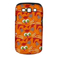 Animals Pet Cats Mammal Cartoon Samsung Galaxy S Iii Classic Hardshell Case (pc+silicone)