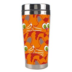 Animals Pet Cats Mammal Cartoon Stainless Steel Travel Tumblers