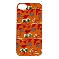Animals Pet Cats Mammal Cartoon Apple Iphone 5s/ Se Hardshell Case