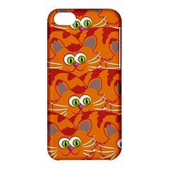 Animals Pet Cats Mammal Cartoon Apple Iphone 5c Hardshell Case