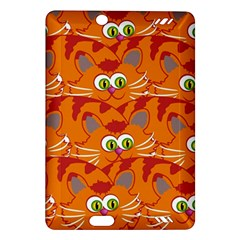 Animals Pet Cats Mammal Cartoon Amazon Kindle Fire Hd (2013) Hardshell Case