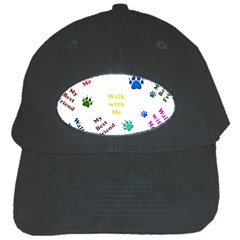 Animals Pets Dogs Paws Colorful Black Cap
