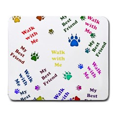 Animals Pets Dogs Paws Colorful Large Mousepads