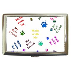Animals Pets Dogs Paws Colorful Cigarette Money Cases