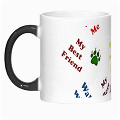 Animals Pets Dogs Paws Colorful Morph Mugs