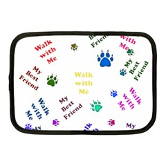 Animals Pets Dogs Paws Colorful Netbook Case (medium)