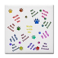 Animals Pets Dogs Paws Colorful Face Towel