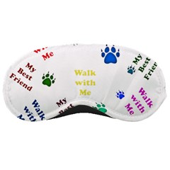 Animals Pets Dogs Paws Colorful Sleeping Masks