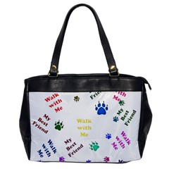 Animals Pets Dogs Paws Colorful Office Handbags