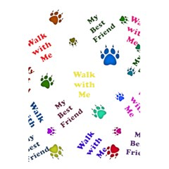Animals Pets Dogs Paws Colorful 5 5  X 8 5  Notebooks