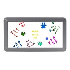 Animals Pets Dogs Paws Colorful Memory Card Reader (mini)