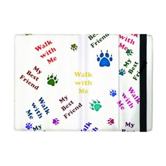 Animals Pets Dogs Paws Colorful Apple Ipad Mini Flip Case