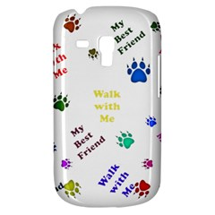 Animals Pets Dogs Paws Colorful Galaxy S3 Mini