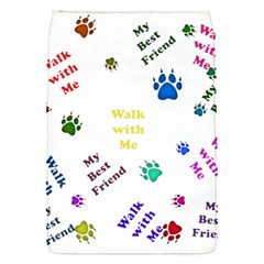 Animals Pets Dogs Paws Colorful Flap Covers (s)