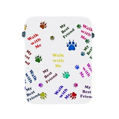 Animals Pets Dogs Paws Colorful Apple Ipad 2/3/4 Protective Soft Cases