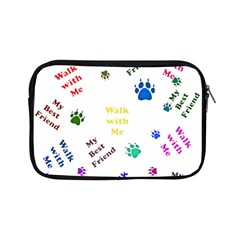 Animals Pets Dogs Paws Colorful Apple Ipad Mini Zipper Cases