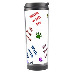 Animals Pets Dogs Paws Colorful Travel Tumbler