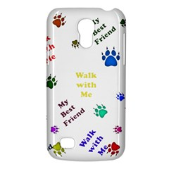Animals Pets Dogs Paws Colorful Galaxy S4 Mini
