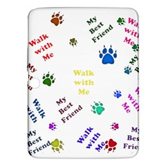 Animals Pets Dogs Paws Colorful Samsung Galaxy Tab 3 (10 1 ) P5200 Hardshell Case