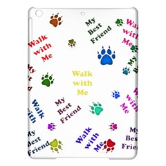 Animals Pets Dogs Paws Colorful Ipad Air Hardshell Cases
