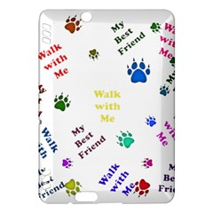 Animals Pets Dogs Paws Colorful Kindle Fire Hdx Hardshell Case