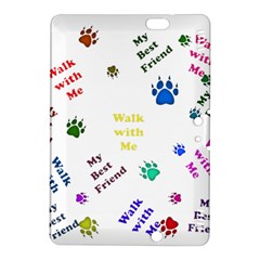 Animals Pets Dogs Paws Colorful Kindle Fire Hdx 8 9  Hardshell Case