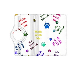 Animals Pets Dogs Paws Colorful Kindle Fire Hd (2013) Flip 360 Case