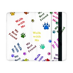 Animals Pets Dogs Paws Colorful Samsung Galaxy Tab Pro 8 4  Flip Case