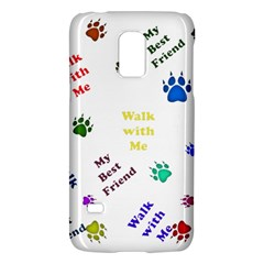 Animals Pets Dogs Paws Colorful Galaxy S5 Mini
