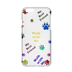 Animals Pets Dogs Paws Colorful Apple Iphone 6/6s Hardshell Case