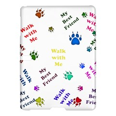 Animals Pets Dogs Paws Colorful Samsung Galaxy Tab S (10 5 ) Hardshell Case