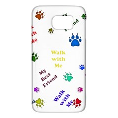 Animals Pets Dogs Paws Colorful Galaxy S6