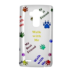 Animals Pets Dogs Paws Colorful Lg G4 Hardshell Case