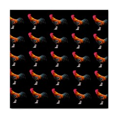 Background Pattern Chicken Fowl Tile Coasters