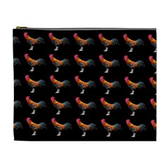 Background Pattern Chicken Fowl Cosmetic Bag (xl)