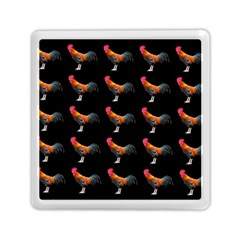 Background Pattern Chicken Fowl Memory Card Reader (square)