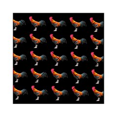 Background Pattern Chicken Fowl Acrylic Tangram Puzzle (6  X 6 )