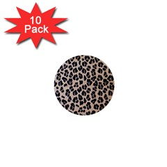 Background Pattern Leopard 1  Mini Buttons (10 Pack)
