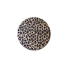Background Pattern Leopard Golf Ball Marker (4 Pack)