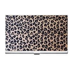 Background Pattern Leopard Business Card Holders