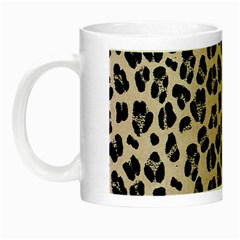 Background Pattern Leopard Night Luminous Mugs