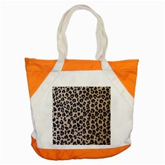 Background Pattern Leopard Accent Tote Bag