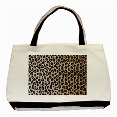 Background Pattern Leopard Basic Tote Bag (Two Sides)