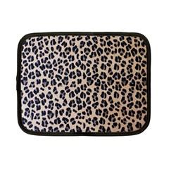 Background Pattern Leopard Netbook Case (small)