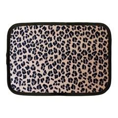 Background Pattern Leopard Netbook Case (medium)