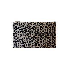Background Pattern Leopard Cosmetic Bag (Small)
