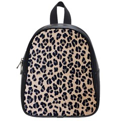 Background Pattern Leopard School Bags (small)