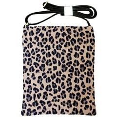 Background Pattern Leopard Shoulder Sling Bags