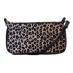 Background Pattern Leopard Shoulder Clutch Bags