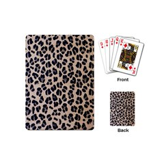Background Pattern Leopard Playing Cards (mini)